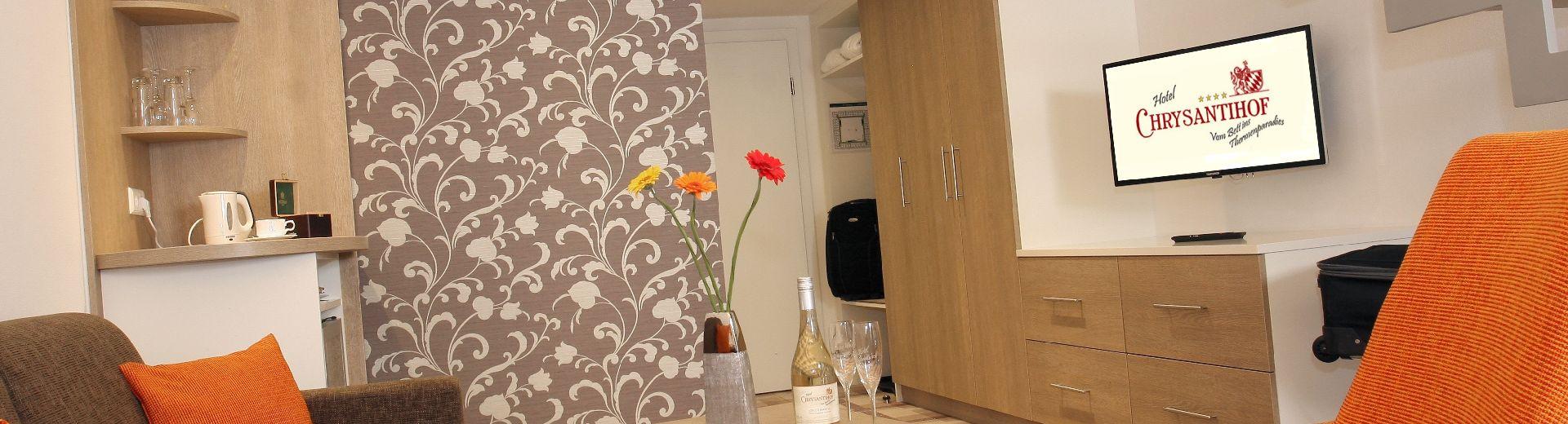 Wohnkomfort mit ruhigen Zimmern und Suiten